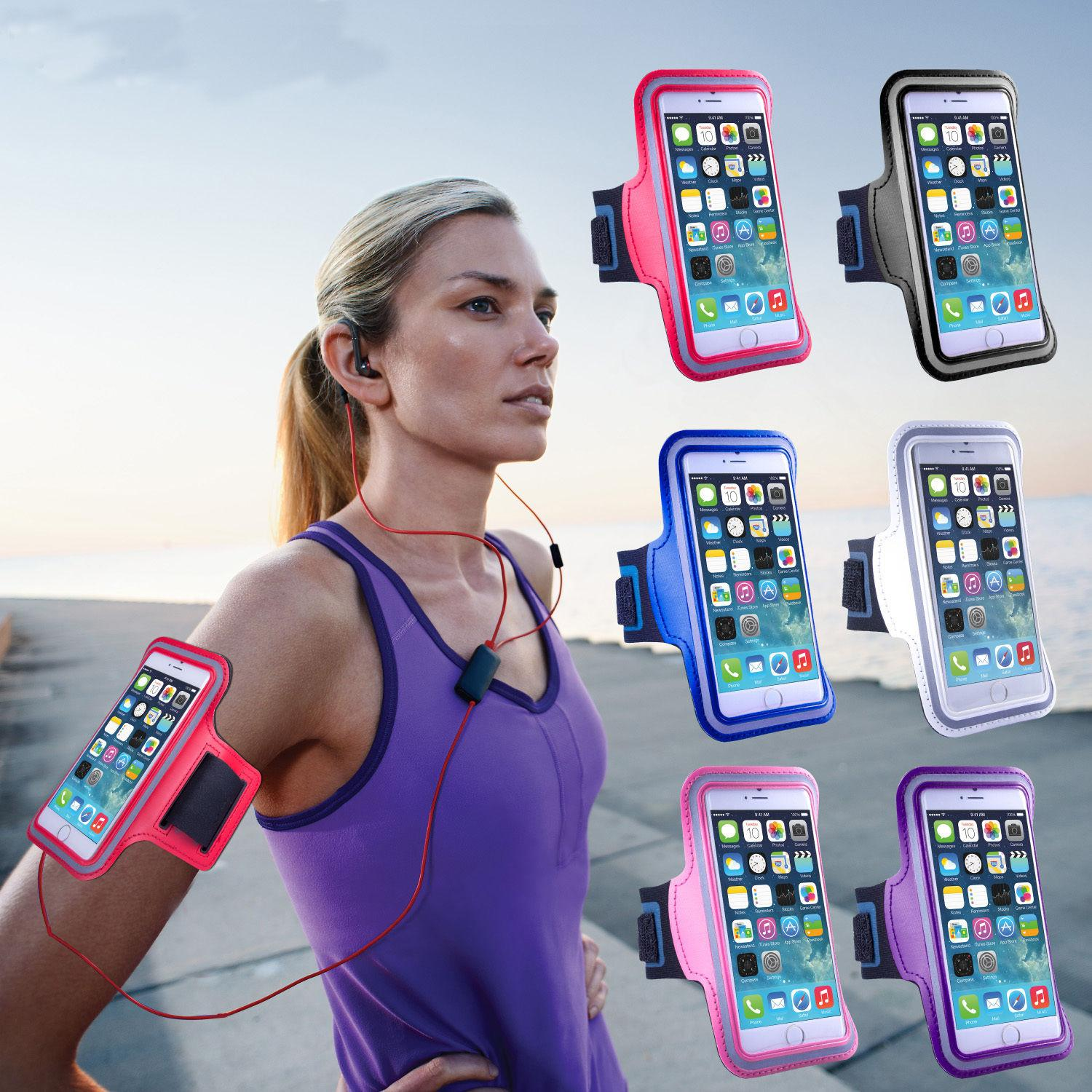separation shoes 8bc0f 27d78 Sweatproof WaterProof Sport Gym Running Armband Arm Band Case Cover For  4.7-5.5 inch Mobile Phone iPhone XR XS MAX X 8 7 6 Plus Samsung S10