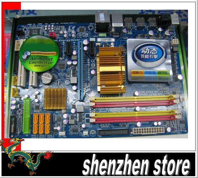 2019 Motherboard Model P43 GA EP43 DS3L For Memory DDR2 Cpu SOcket
