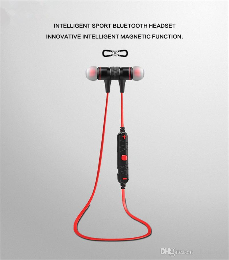 Bluetooth Earphone Wireless Headphone Sport Headset Magnetic Headset Auriculares Cordless Headphones Casque 10h Music