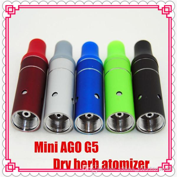 Cheapest tank Mini Ago g5 Vaporizer dry herb vape pen mini Ago G5 atomizer with many colors in stock