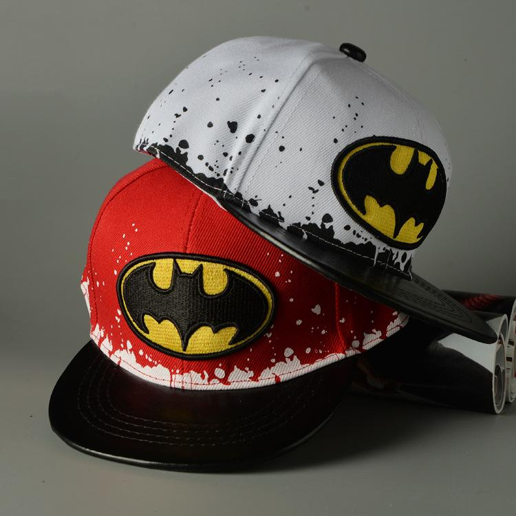 2016 Fashion Kids Cartoon Snapback Baseball Cap Embroidery Childrens  Spiderman Hats Cute Batman Casual Sports Sun Caps For Children Men Hats  Zephyr Hats ... 52a61701caf6