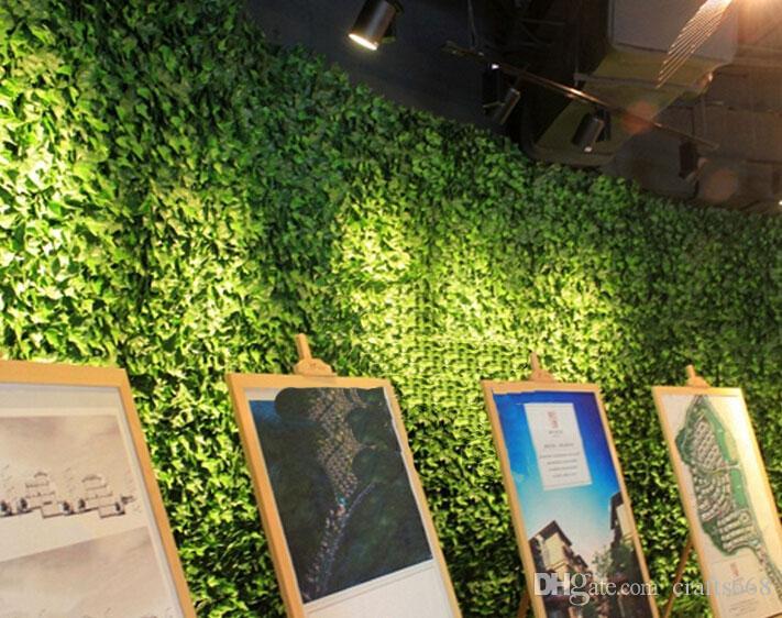 80 CM 2 teile / los Bar Restaurant Dekoration Künstliche Kunststoff Simulation Kletterpflanzen Grünen Blatt Ivy Rattan Wohnkultur pflanzen