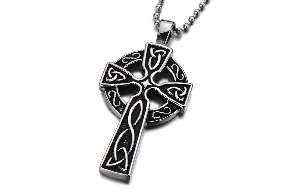 2018 mens celtic cross necklace blackboys cross necklacecross 2018 mens celtic cross necklace blackboys cross necklacecross necklace men mens cross pendant necklacecross pendant necklace from jackchen168 aloadofball Image collections