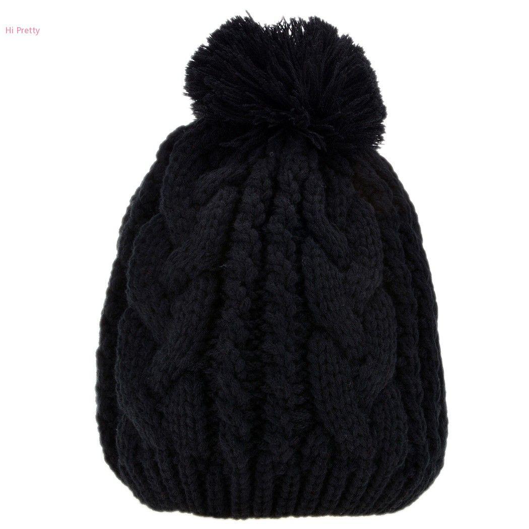 47df3a4cc Wholesale-2015 New Fashion Stylish Lady Women Knit Hat Winter Warm Ski  Skating Soft Knitted Cap Hat