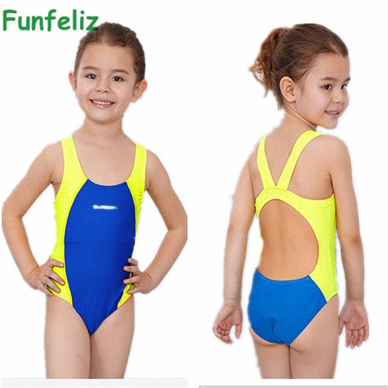 e4b9a2d61e641 2019 Wholesale Kids Swimmer Girls Bathing Suit Infantil Swimwear For Girls  Bathers Children One Piece Swimwear Lovely Girl Sport Swimsuit 3 10T From  Cutee, ...