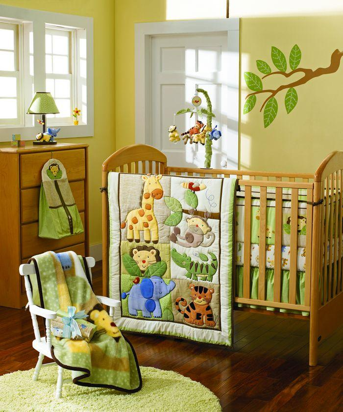 sale baby bedding set pattern tiger elephone baby crib bedding set