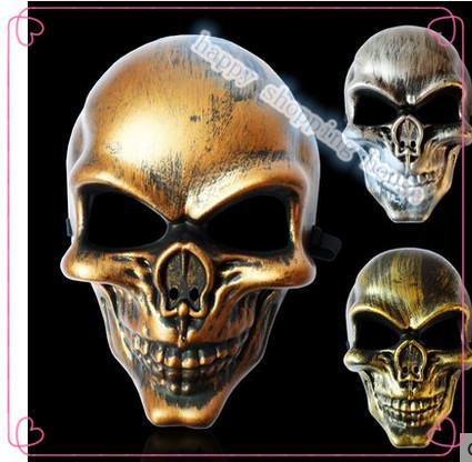 2 adet 24 cm * 16 cm Ücretsiz KARGO Cadılar Bayramı partisi gösterisi Cadılar Bayramı Hayalet CS yüzleri terörist korsan maskesi antik Tam yüz maskesi Kito anti-terörizm