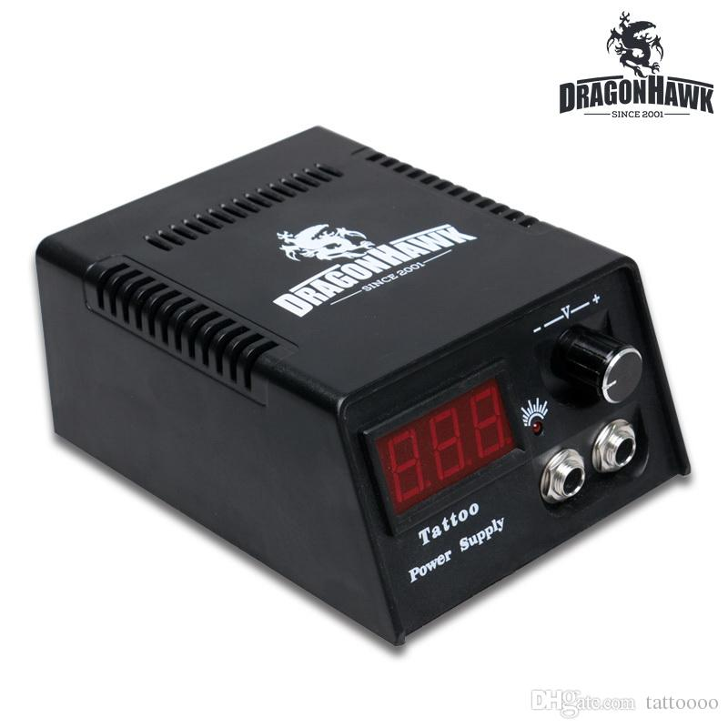Lcd Digital Dual Machine Tattoo Power Supply With Eu Us Power Plug A