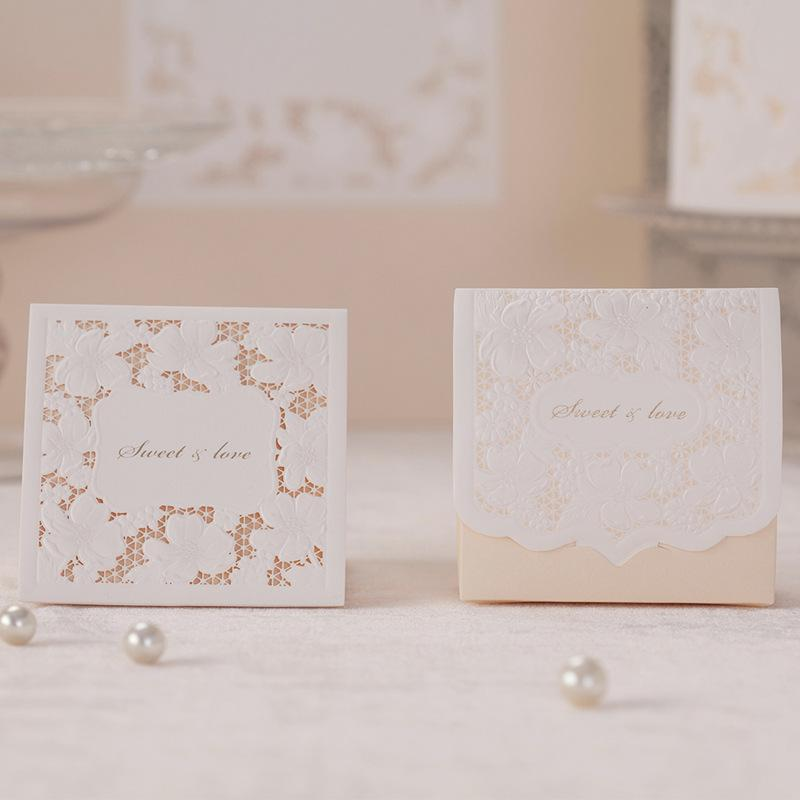 Lace Pearl Wedding Favor Boxes White High Class Paper Bonbonniere Holders Cb1101 Luxury Xmas Wrapping Me To You Christmas