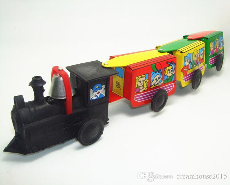 Remonter Métal Marche Collection Train Enfants Mécanique Enfant Cadeau Rétro Voiture Classique Robot Noël À Jouet En Étain iOuPTZkX