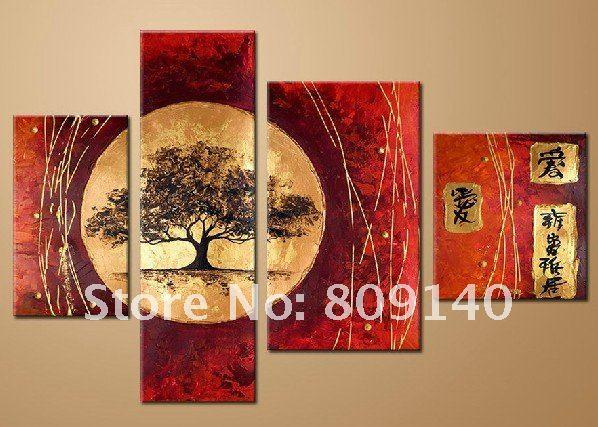japanisches home office urban farm 2018 stretched japanese landscape oil painting canvas artwork hand painted classic home office hotel wall art decor decoration gift from fashiondig