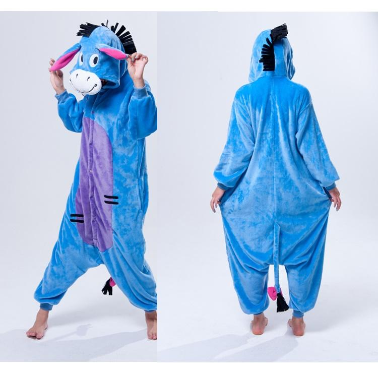 597c10e4d3f3 2019 Funny Donkey Animal Onesies Adult Onesies Costume Pyjamas Women Ladies  Animal Onesies Pyjamas Anime Cosplay Costumes Animal Costume Pyjamas From  ...