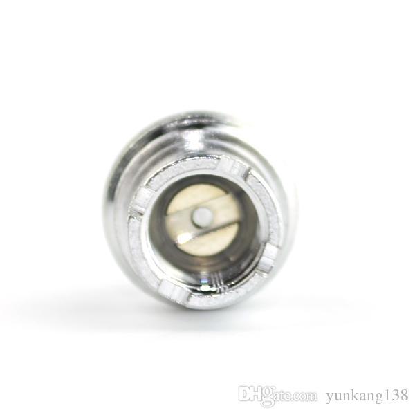 Excelente qualidade 510-eGo Conector de Metal ViVi NOVA Adaptador de Conectores mini ViVi NOVA 510 Conectores de Bateria para o ego E Cigarro