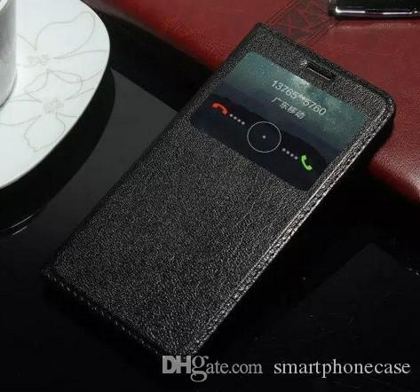 Sıcak Satış Penceresi Orijinal Huawei Onur Için 5X Oyna Kılıf Sevimli Flip Kapak Lüks Renkli Orijinal Deri Kılıf Için Huawei Onur 5X Oyna
