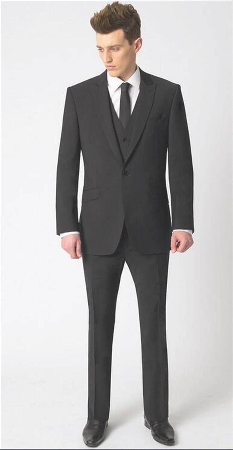 2016 Men'S Suits Men'S Leisure Suit Three Piece Suit Formal Wear ...