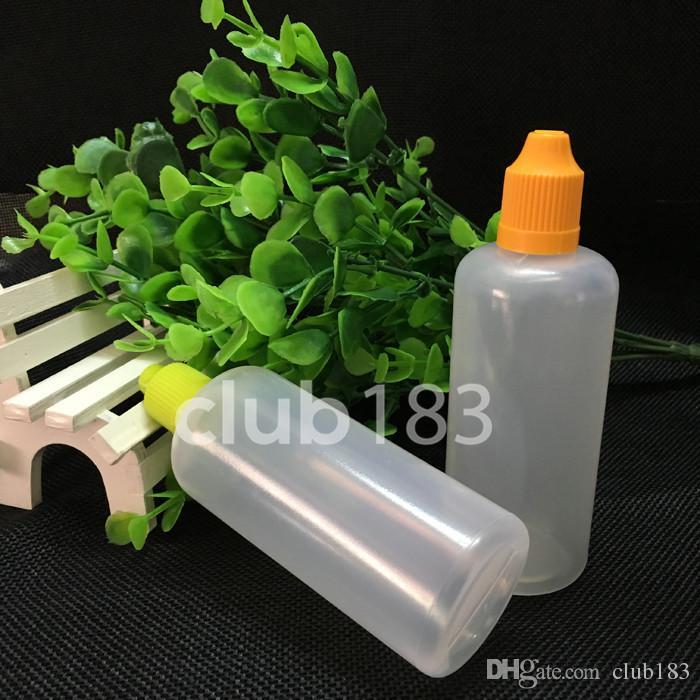 Große Qualität Kunststoff E-Liquid Flasche Elektronische Zigarette Öl Flaschen Leer Tropfflasche 100ml E Flüssigkeit Flasche