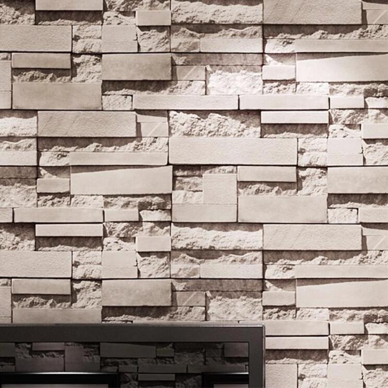 Great Wall Brick Wall Background Wallpaper Grey