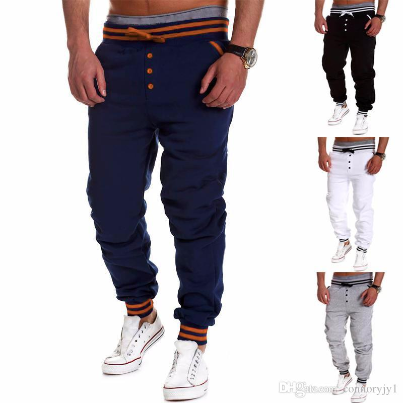 03949db2 2019 Harem Pants Men New Style: Fashion Casual Classic Slim Fit Skinny Men  Joggers Tracksuit Bottoms Sarouel Homme Men Jogger Pants From Connoryjy1,  ...