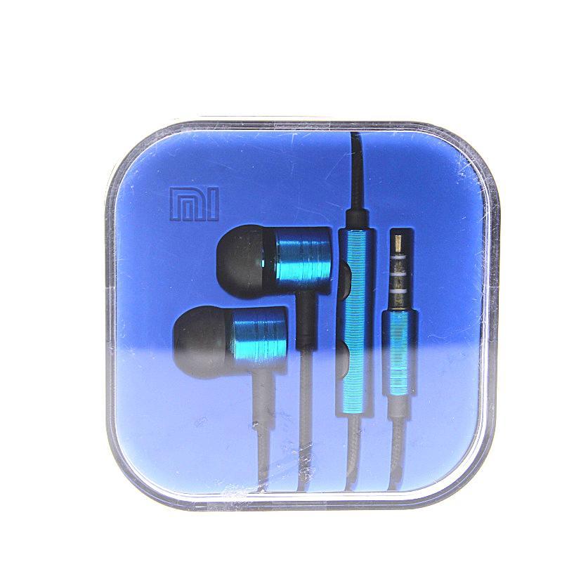 3.5 mm de metal Xiaomi auricular universal de cancelación de ruido en la oreja los auriculares auriculares para Xiaomi Samsung HTC Huawei LG SONY iphone EAR024