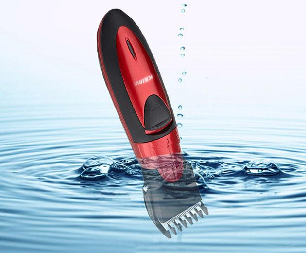 Waterproof electric children hair clipper razor child baby barber haircut shaver hairdressing cutting machine low noise razor cutter