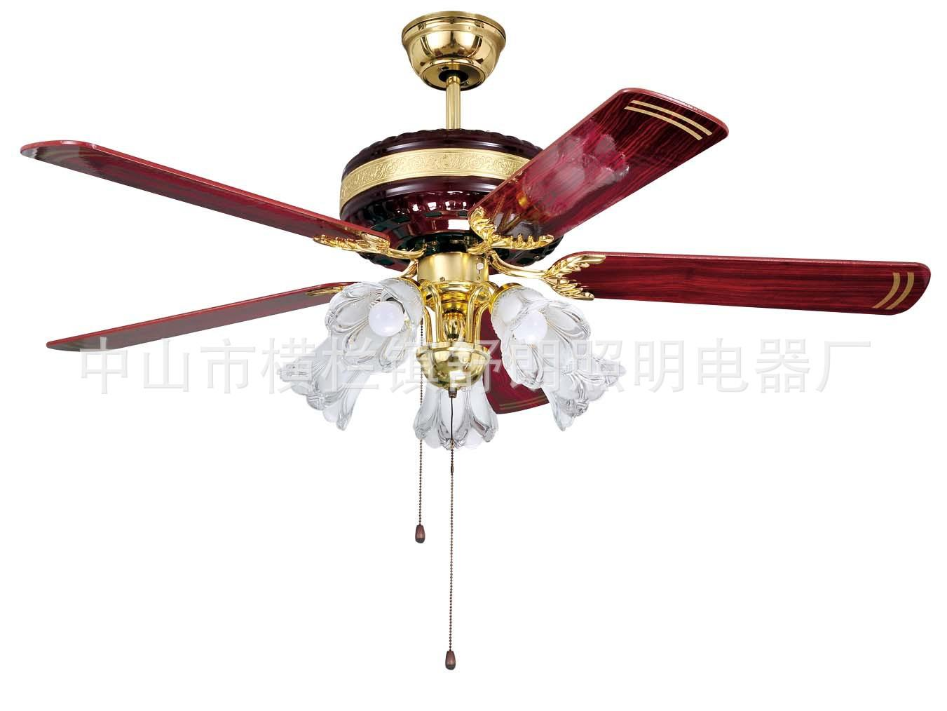 2017 special fan lights wholesale red wood jin xiqing restaurant