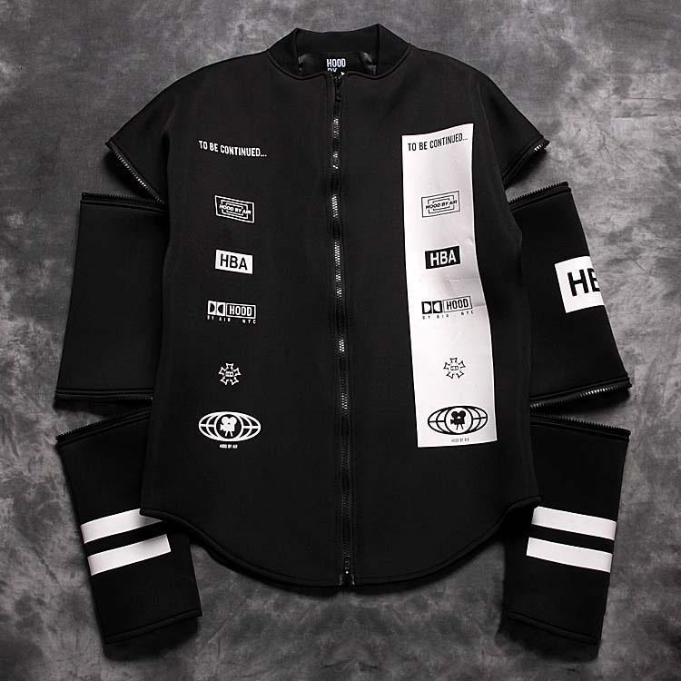 Jh Winter Hood By Air Hba Men Jacket Sleeves Detachable