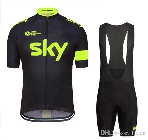 01b2b61e9 2016 Tour De France Team SKY Cycling Jersey Set Men Cycling Outdoor Cycling  Size XS-4XL Bicycle Wear Team SKY SKY Cycling Tour De France Online with ...