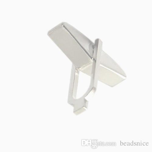 Beadsnice Cufflink Backs Wholesale Cufflink Parts 925 Solid Silver Cufflink Findings for Men Handmade Jewelry Material ID 27527