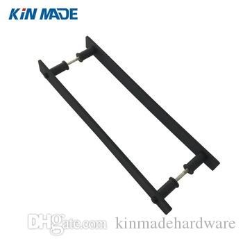 KIN MADE Iron Black Back To Back Industrial Barn Door Handle Wooden Door  Pull Barn Door Handle Wooden Door Pull Online With $45.72/Piece On ...