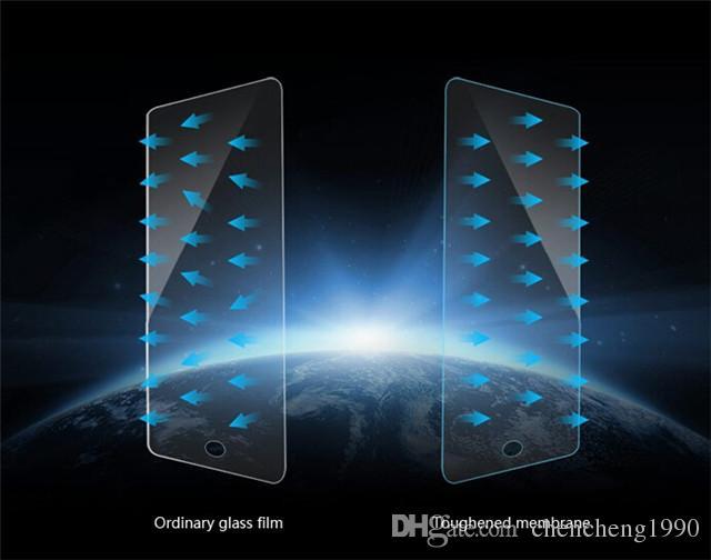 Perfekte Größe für iPad 0,26 mm 2.5D gehärtetem Frontglas Displayschutzfolie gehärtetem Film für iPad Air 2 Mini 2 3 4 versandkostenfrei