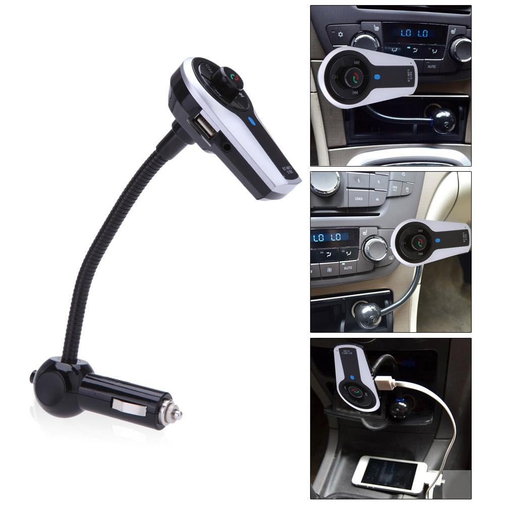 Best quality car bluetooth mp3 player fm transmitter handsfree speaker handset music radio kit phone charger for iphone 5 4s 4 6 plus 12v at cheap price