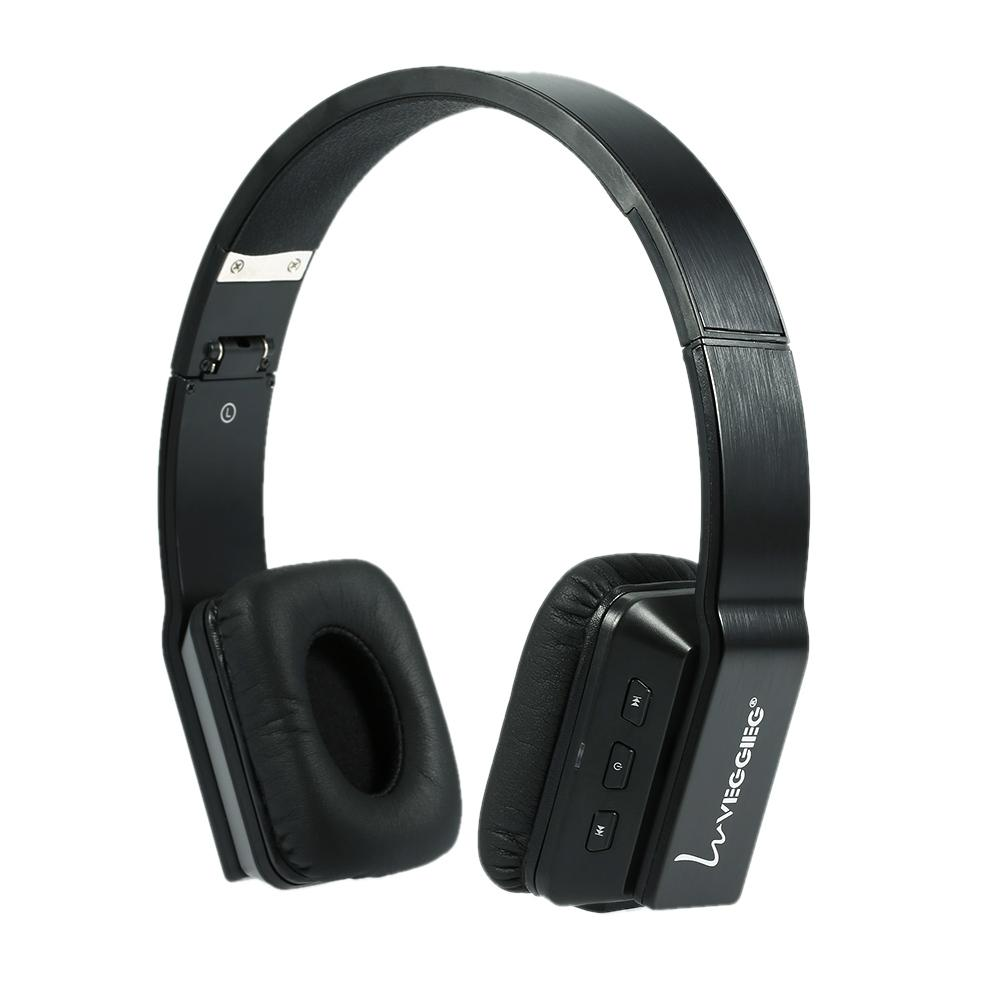 VEGGIEG V8200 Pliable Sans Fil Bluetooth Casque BT 4.0 EDR Écouteur En Plein Air Sport Stéréo Musique Casque pour Smart Téléphone PC