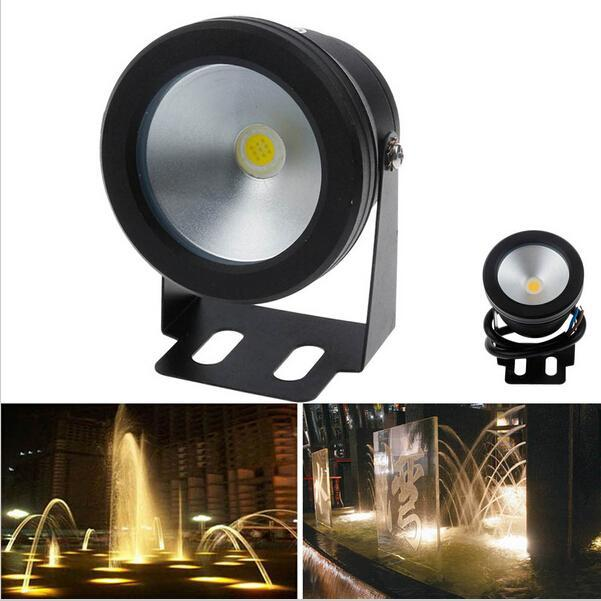 Led Underwater Lights 10w 900lmunderwater Led Fountain Lights 12v Ip68 Waterproof Led Outdoor Fountain Garden Lights Pool Lamp Bulb Warm Cold White