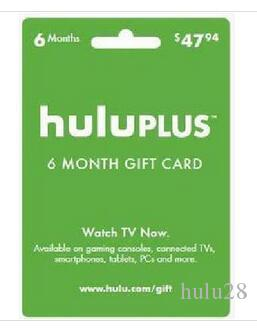 Hulu Plus 6 Month Gift Subscription Gift Card Gift Code Email Delivery Memberhship Wholesale Hulu Plus 6 Month,Send Code By DHgate Mess Electronics Sale ...