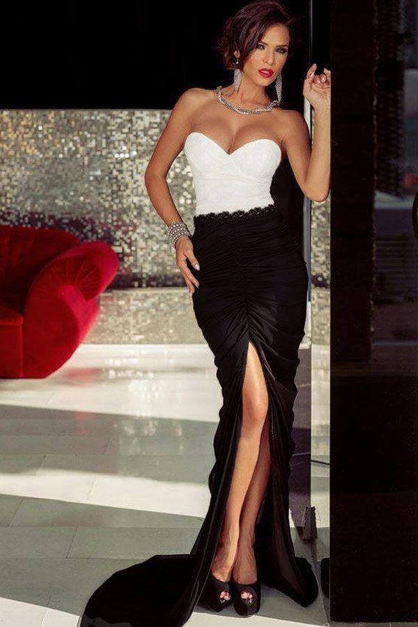 Velvet Side Split Sweetheart Evening Dresses Mermaid Lace Pleats Open Back Zipper Floor Length Prom Dress Party Special Occasion Gowns