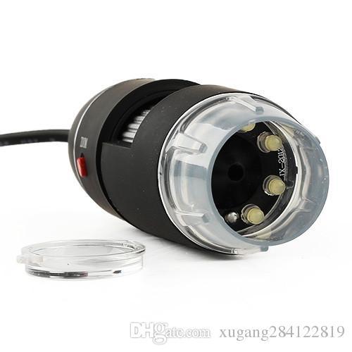 Portatile USB 2MP 50-500X USB Digital Microscope Endoscopio Magnifier 8 LED Camera Cam Computer PC