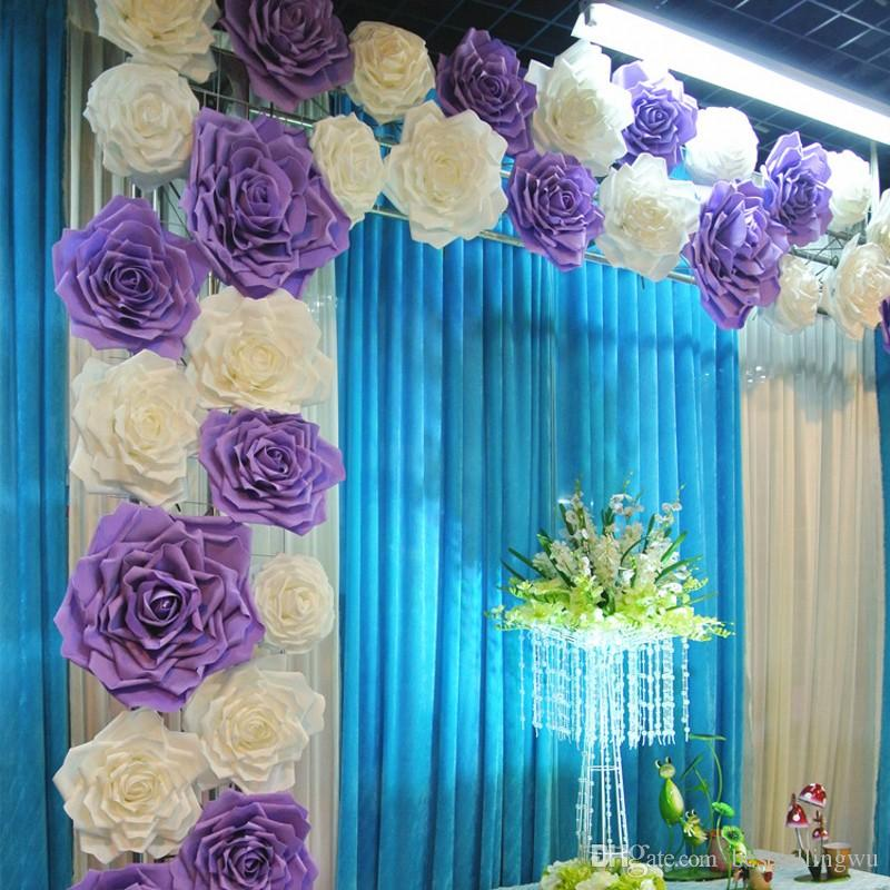 2016 New Popular Artificial Rose Flower Diy Craft Ornament For
