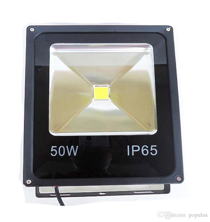 LED Floodlight 50W LED Flood Light Waterproof IP65 Thick Housing 100-110LM/W Super Bright AC85-265V 3 Years Warranty
