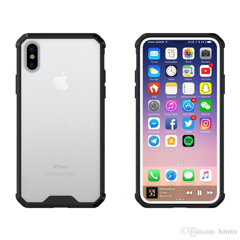 clear hard case iphone 8