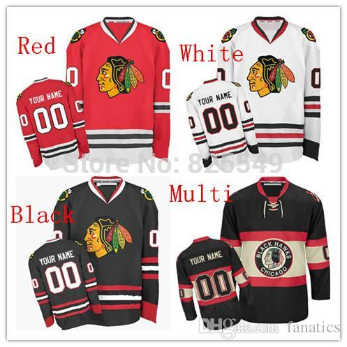 4d4efe394 2018 2016 Wholesale Stitched Custom Chicago Blackhawks Hockey Jerseys  Personalized Any Name Any Number For Men Women And Youth Size S 4xl From  Fanatics