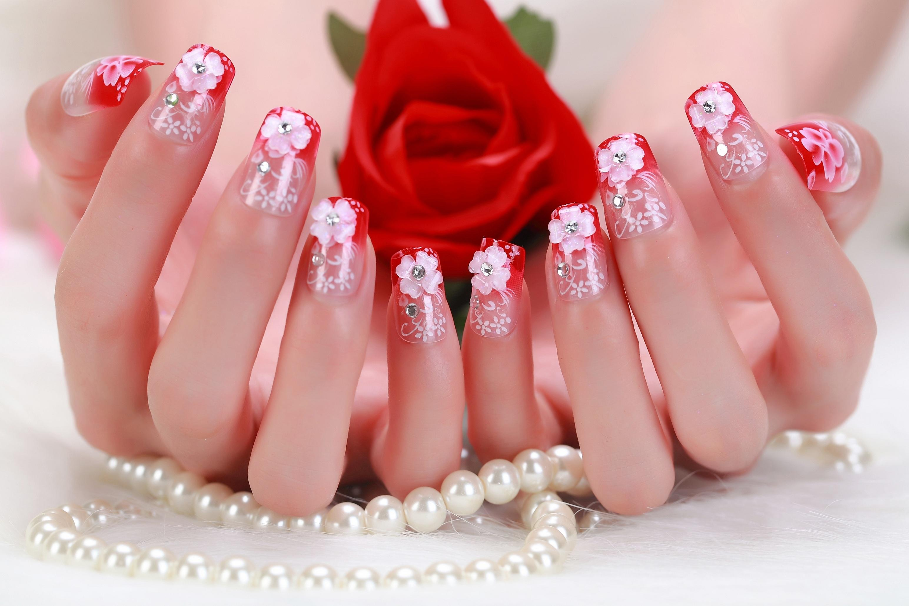 Kids False Nails French Stiletto Fake Nail Tips 100x Full Cover Acrylic Artificial Lady GagaS Harajuku Ongle 0192 Online Gel