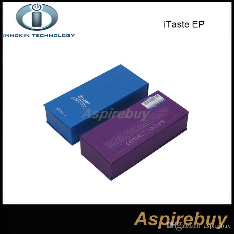 100% Original Innokin iTaste EP Kit itaste EP Starter Kit iTaste EP Battery 700mAh with iClear 12 Clearomizer Vaporizer Pen Style Kit