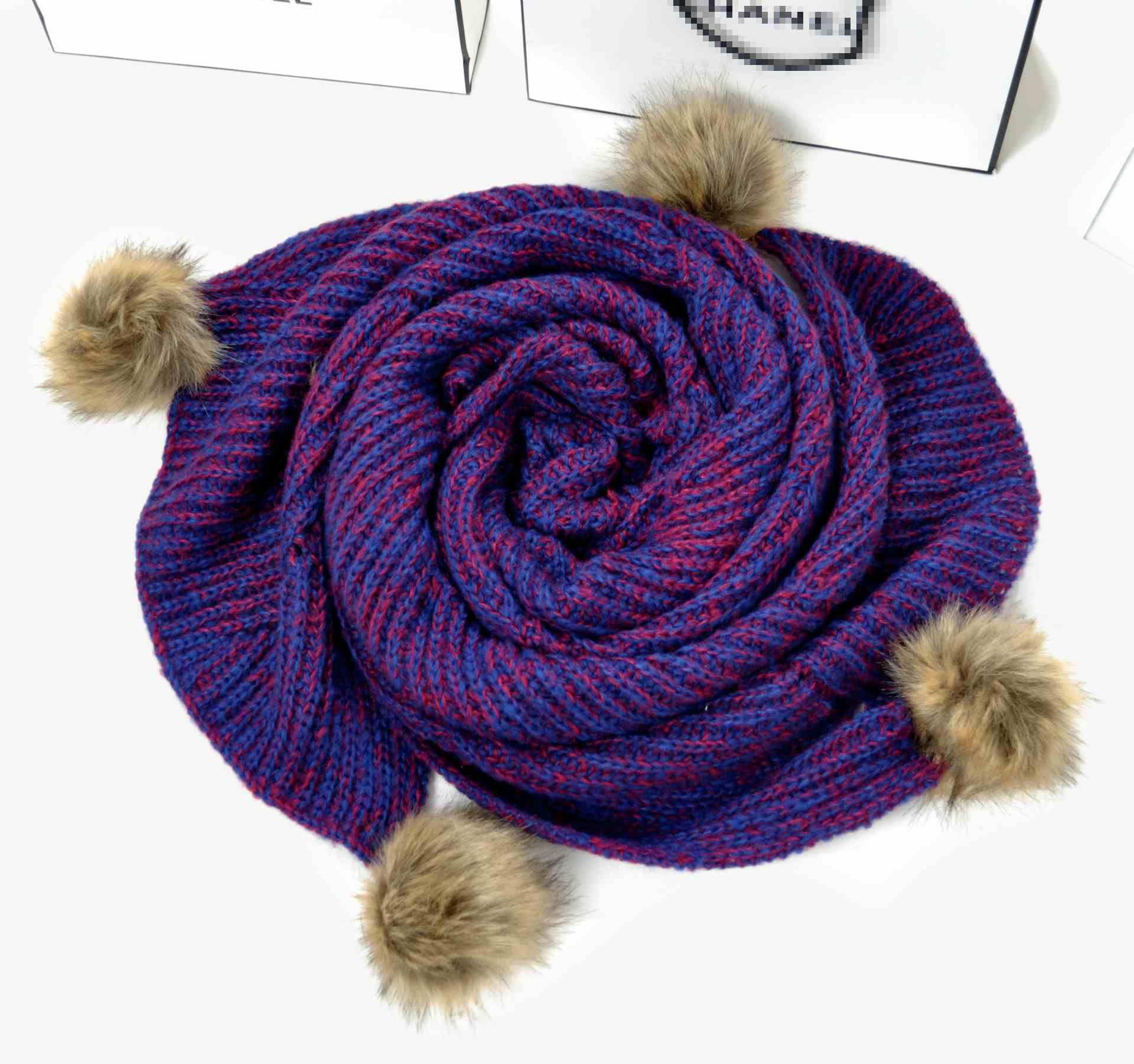3色の文学ケープナショナルスタイルポンチョの女性暖かいニットパシミナオールマッチショールとスカーフ冬スカーフ秋ファッション