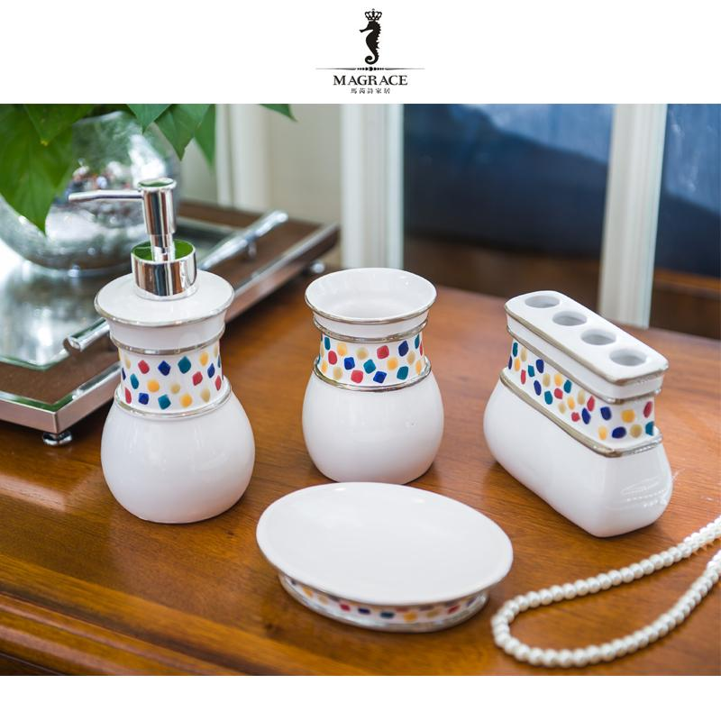 Großhandel Porzellan Einfache Badezimmer Artikel Keramik Sets ...