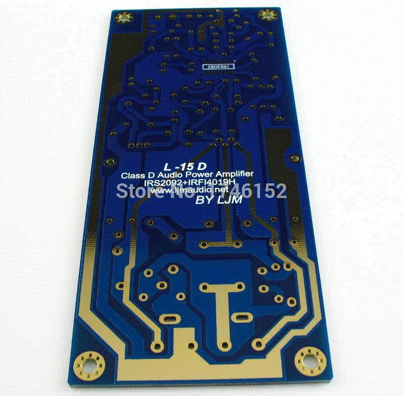 L15D 300W+300W Class D Power Amplifier Kit IRS2092 IRFI4019H