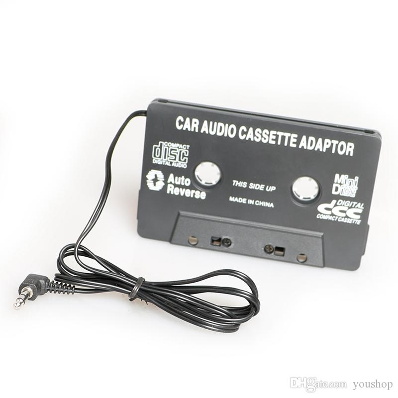 3 5mm car audio cassette adapter converter tape player car audio 3.5Mm Stereo Plug 3 5mm car audio cassette adapter converter tape player car audio player for iphone for ipod in car stereo system in car stereo systems from youshop