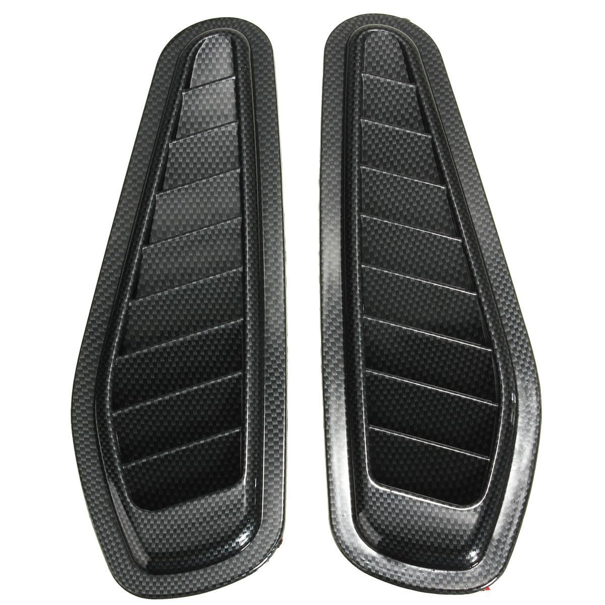 2015 Brand New 2x Car Decorative Air Flow Intake Scoop