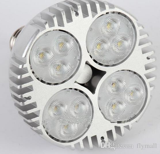 PAR38 40W 50W Spotlight lampadina di parità 38 LED 20 E27 LED con ventilatore i monili Abbigliamento Shop Gallery ha condotto la pista Light Rail Museo illuminazione