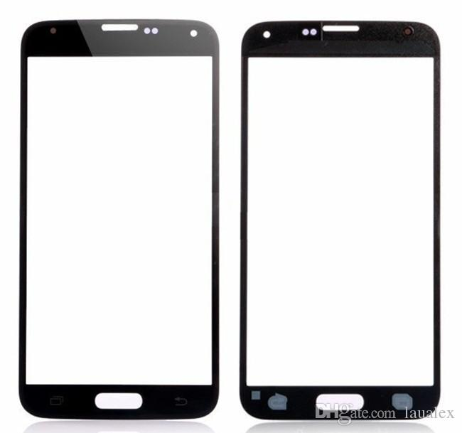 S5 Outer Front Glass Lens Screen Digitizer Touch Screen Cover touch panel screen Glass For Samsung Galaxy S5 I9600