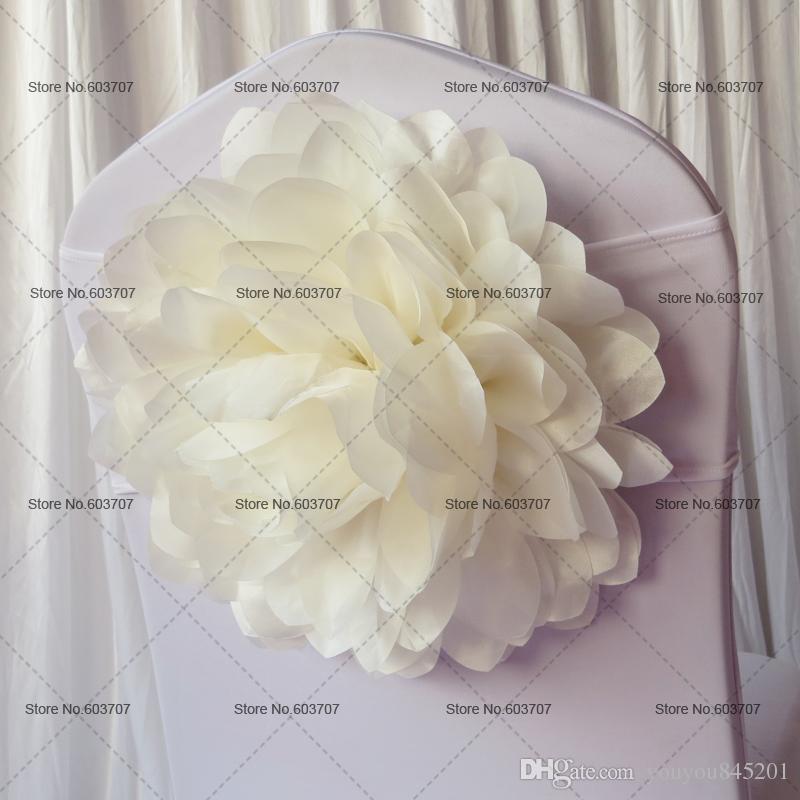 3 색 선택의 여지가 큰 새틴 로즈 꽃 라이크라 밴드 MOQ 무료 배송 결혼식, 파티, 호텔 사용